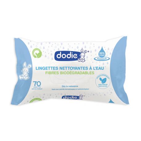 Dodie Lingettes Nettoyantes à l'Eau x70