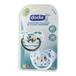 Dodie 2 Sucettes Physiologiques +18m P78
