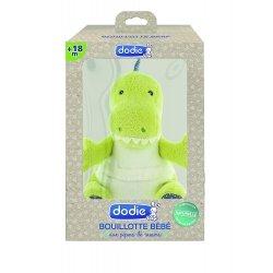 Dodie Dinosaure Bouillotte Bébé aux Pépins de Raisins +18m