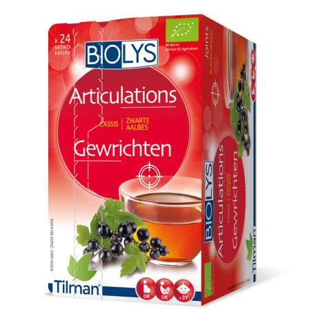 Biolys Articulations Cassis 24 sachets