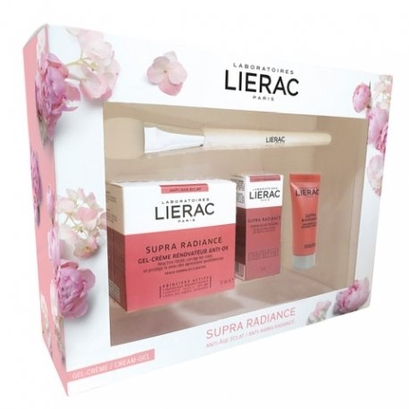 Lierac Coffret Supra Radiance - Gel-Crème 50ml + 3 Cadeaux