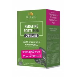 Biocyte Pack keratine men 3 X 40 comprimés