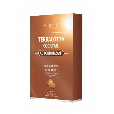 Biocyte Terracotta Cocktail Hâle Sublime 30 Comprimés