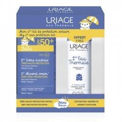 Uriage Bébé Ccrème Minérale SPF50+ 50ml + Eau Thermale 50ml OFFERT