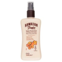 Hawaiian Tropical Satin Protection Lotion Spray Solaire SPF8 200ml