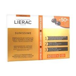 Lierac Solaire Offre Duo Sunissime 60 capsules