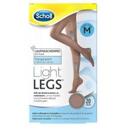 Scholl Collants Light Legs 20 Den Noir M