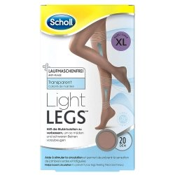 Scholl Collants Light Legs 20 Den Noir Xl