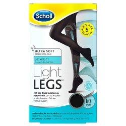 Scholl Collants Light Legs 60 Den Noir S