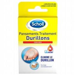 Scholl Pansements Traitement Durillons - 4 unités