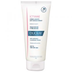 Ducray Ictyane Crème Lavante peaux sèches 200ml