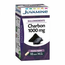 Juvamine Charbon 1000mg - ballonnements 40 gélules