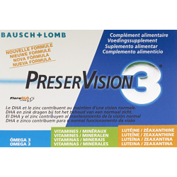 Bausch & Lomb preservision luteine 60 capsules