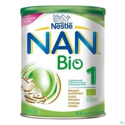 NAN Optipro Bio 1 Lait pour Nourissons 800g