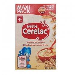 Nestlé Cerelac Céréales Biscuitées Bébé pour panades de fruits 800gr