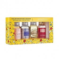 L'Occitane en Provence Collection de Gels Douche 4 x 75ml