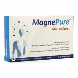 MagnePure Bio-Active 30 comprimés