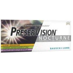 Bausch + Lomb PreserVision Nocturne 30 comprimés