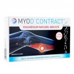 Bausch & Lomb Myod'Contract Magnésium Naturel Breveté 30 capsules