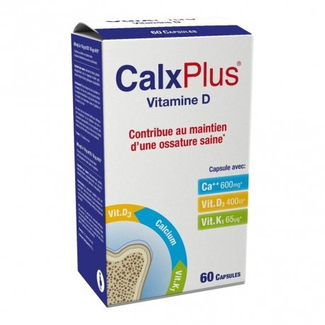 Calx Plus Vitamine D 60 capsules