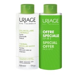 Uriage eau micellaire thermale lot. pmix-g 2x500ml
