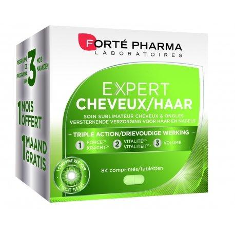 Forte Pharma Expert cheveux tripack 3x28 comprimés
