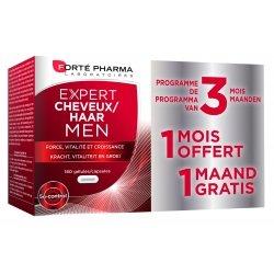 Forte Pharma Expert Cheveux Men caps 180 Promo 2+1 gratuit