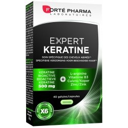 Forte Pharma Expert kératine 40 capsules