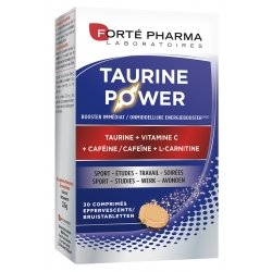 Forte Pharma Energie Taurine Power 30 Comprimés Effervescents