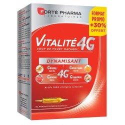 Forte Pharma Vitalité 4g Dynamisant 30x10ml Ampoules
