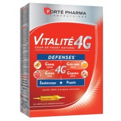 Forte Pharma Vitalité 4G Défenses Ampoules 20x10ml