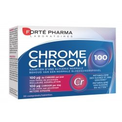 Forte Pharma Chrome 100 30 comp
