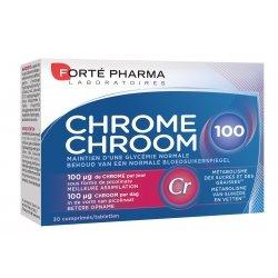 Forte Pharma Chrome 100 30 comprimés