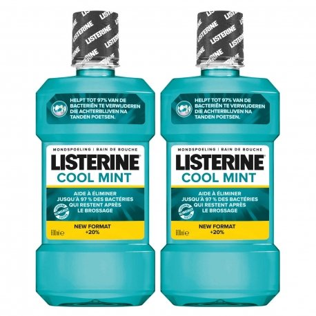 Listerine Duopack Coolmint 500ml