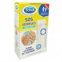 Scholl Pharma Sos verrues 80ml 16 Applicateurs