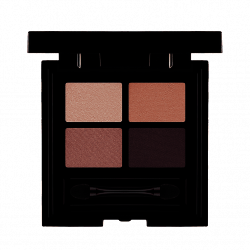 Les Couleurs de Noir Soft Touch Eyeshadow Quattro 03 Sophisticated Pink