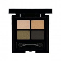 Les Couleurs de Noir Soft Touch Eyeshadow Quattro 04 Khaki Couture
