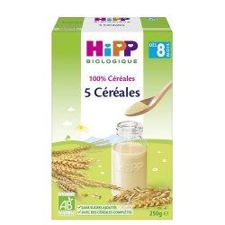 HIPP 5 Céréales 250g