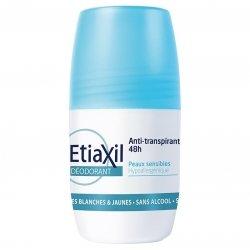 Etiaxil anti-transpirant Déodorant 48H peaux sensibles Roll-on 50ml