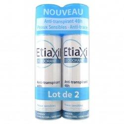 Etiaxil Déodorant Anti-Transpirant 48h Aérosol Duo Pack 2x150ml