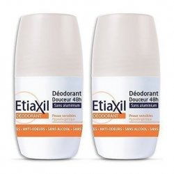 Etiaxil Déodorant Douceur 48h Roll-On Duo Pack 2x 50ml