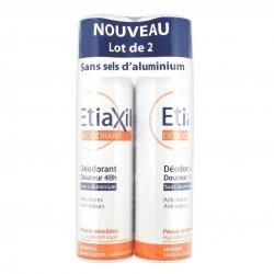 Etiaxil Déodorant Douceur 48h Aérosol Duo Pack 2x 150ml