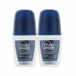 Etiaxil Déodorant Men Anti-Transpirant Roll-On Duo Pack 2x 50ml