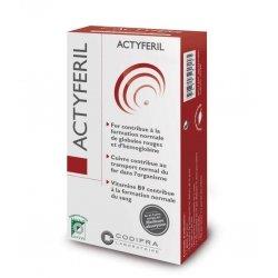 Codifra Actyferil Carence en fer 60 gélules