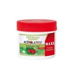 Herbesan Acerola Premium Format Familial 90 Comprimés à croquer
