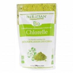 Herbesan Bio Chlorelle Poudre Détoxification Corps 200g