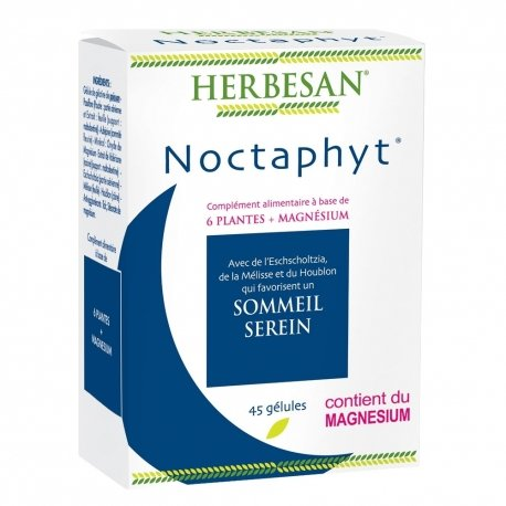 Herbesan Noctaphyt Sommeil Serein 45 Gélules