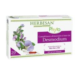 Herbesan Desmodium Digestion Bio 20 Ampoules de 15ml