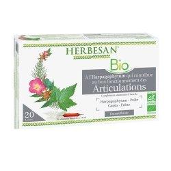 Herbesan Harpagophytum Bio Articulations 20 Ampoules de 15 ml