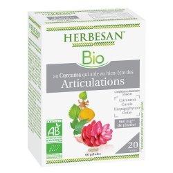 Herbesan Curcuma Bio Articulations 60 Gélules